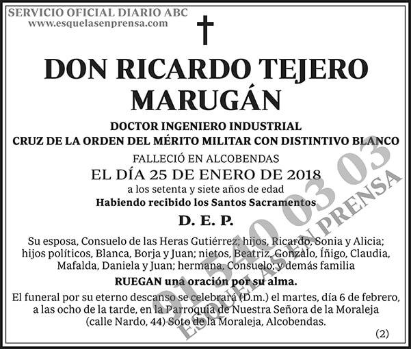 Ricardo Tejero Marugán